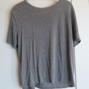 Abercrombie SUPER SOFT Gray T-shirt NO LOGO